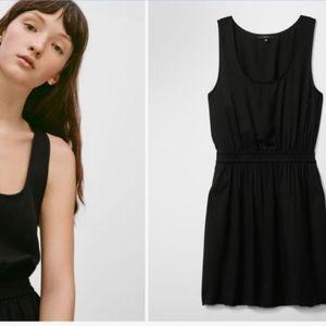 Aritzia talula little black dress with pockets